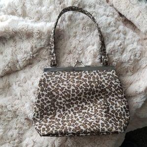Handbags - Cheetah print small purse.